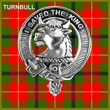 Red, and Green Plaid with bull in centre