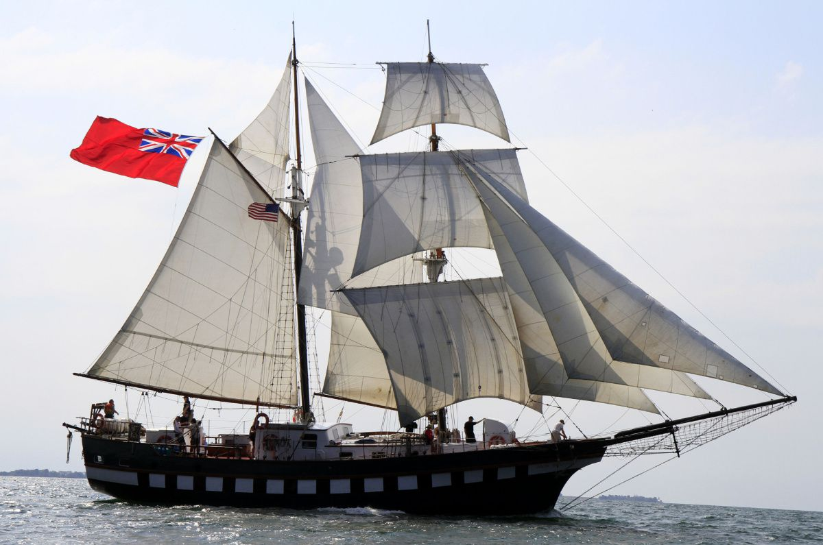 Picture of Tall Ship STV Fair Jeanne