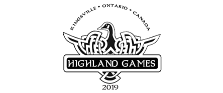 Highland Games 2019 Logo