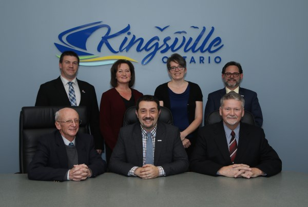 Kingsville Town Council in Council Chambers